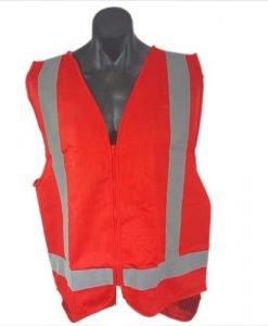 Red adult vest