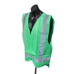 Forest green safety vests