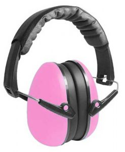 Pink child earmuffs