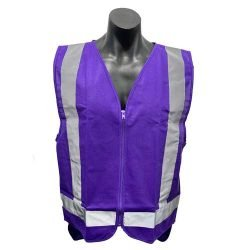 Purple Safety Vests