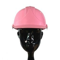 Pink Safety Helmet